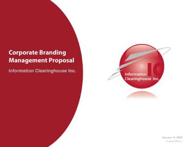 corporate branding management proposal
