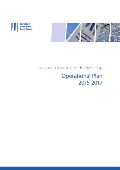 european investment bank group operational plan