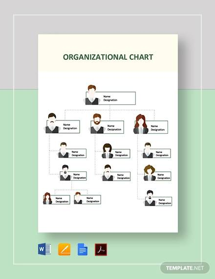 Free 27 Sample Organizational Chart Templates In Pdf Ms Word Excel