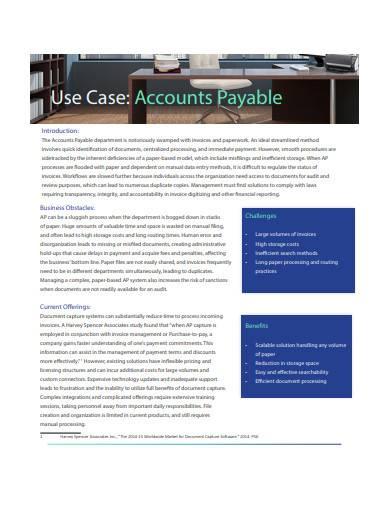 accounts payable sample