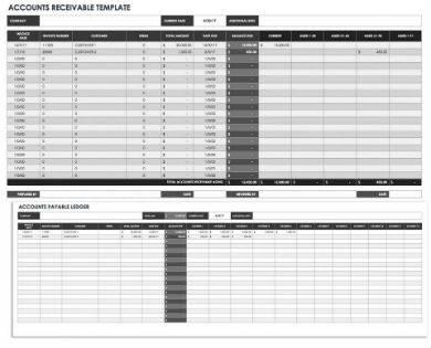 accounts receivable sample