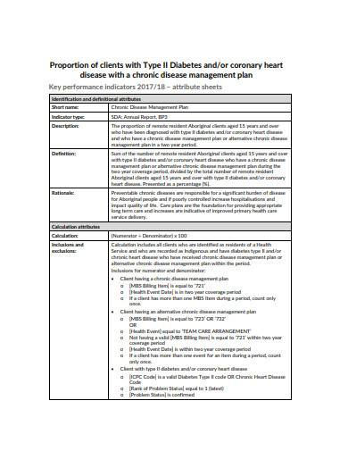 chronic disease management plan in pdf