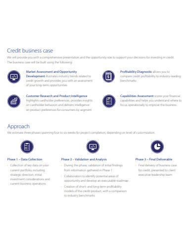 consumer credit assessment template