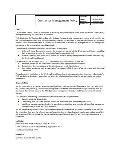 contractor management policy example1