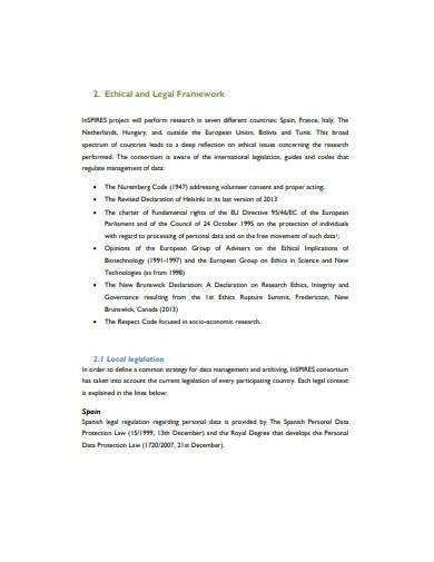 data management plan template