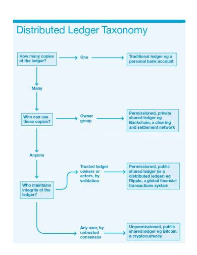 distributed ledger taxonomy