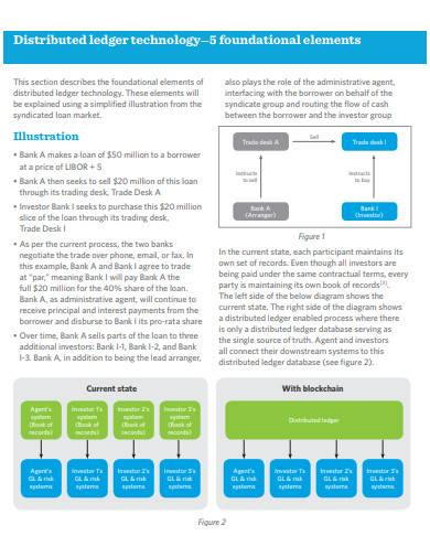 elements of distributed ledger technology