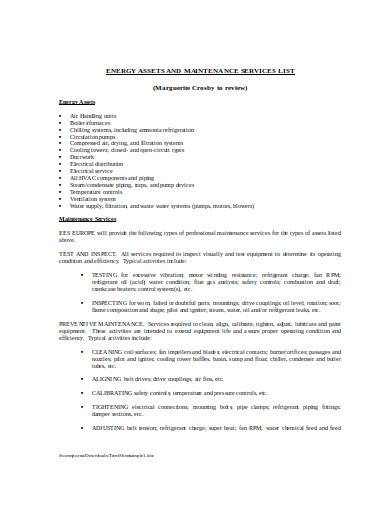 energy management agreement in doc