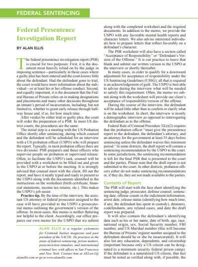 federal presentence investigation report in pdf