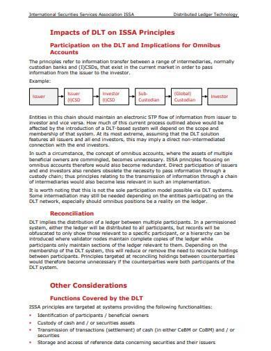 formal distributed ledger technology