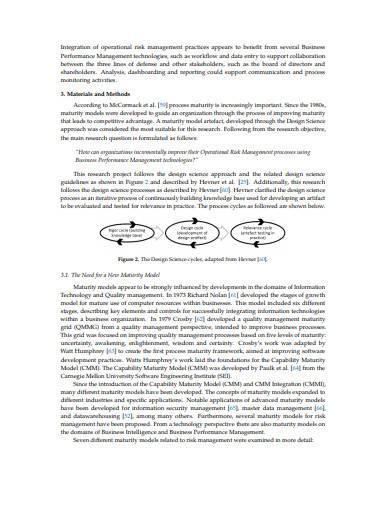 formal operational risk management sample