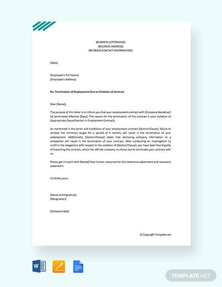 Contract Termination Letter Sample Doc from images.sampletemplates.com