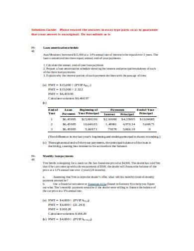 loan amortization schedule in doc