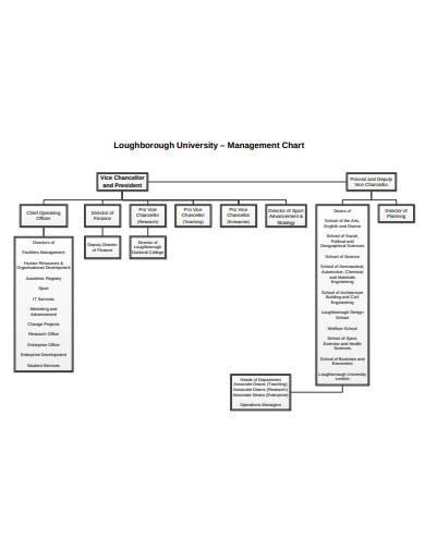 management chart template