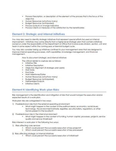 management work plan in pdf