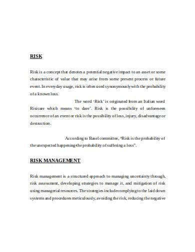 operational risk management in doc