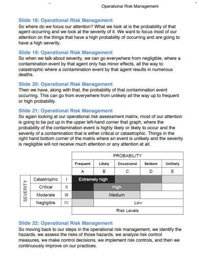 operational risk management in pdf