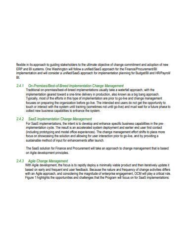 organizational change management strategy