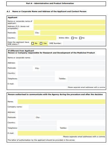 paediatric investigation plan application form