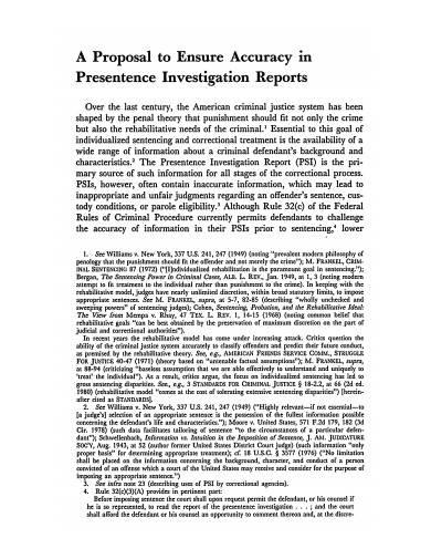 presentence investigation report example