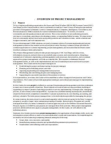 printable project management checklist in doc