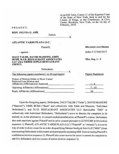 restaurant management agreement in pdf