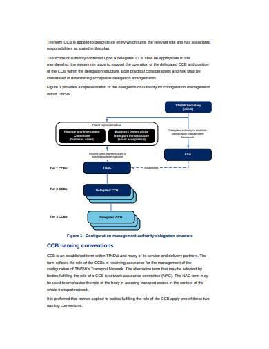 sample configuration management plan template