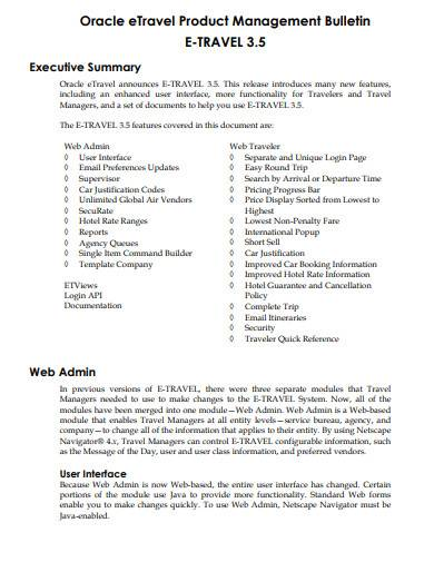 sample product management template1