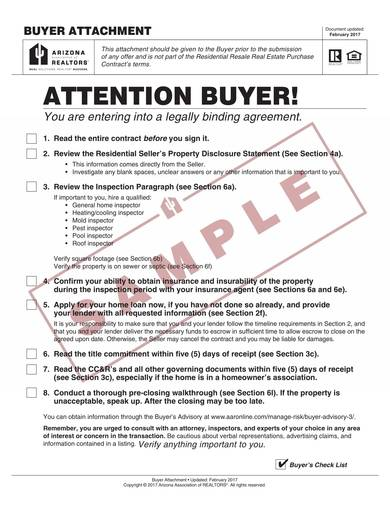 sample residential resale real estate purchase contract