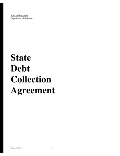 sample state debt collection agreement