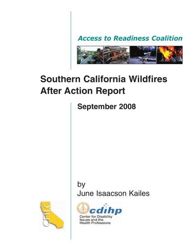 sample wildfires after action report