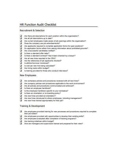 simple management audit checklist template1