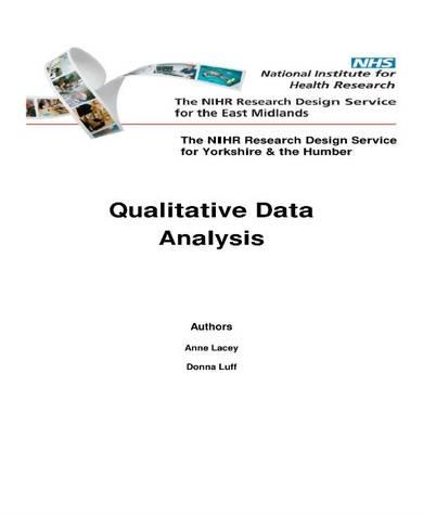 46 page qualitative data analysis sample