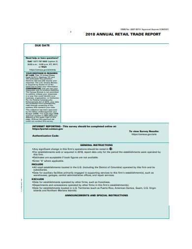 annual retail trade report in pdf