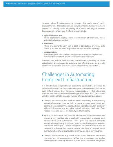 automating continuous integration