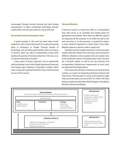 backward integration business model sample