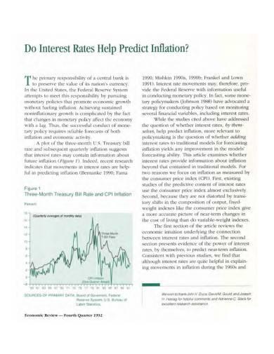 basic predict inflation sample