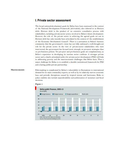 basic private sector assessment