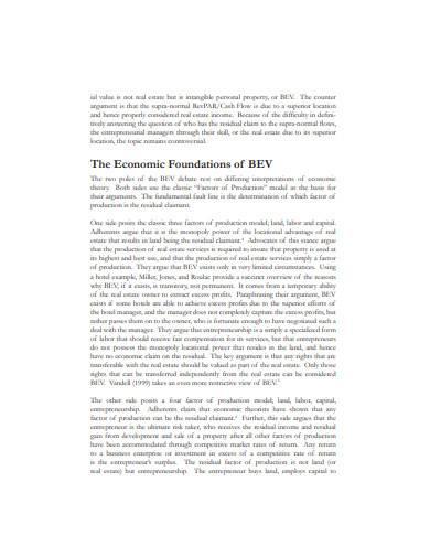 business enterprise value