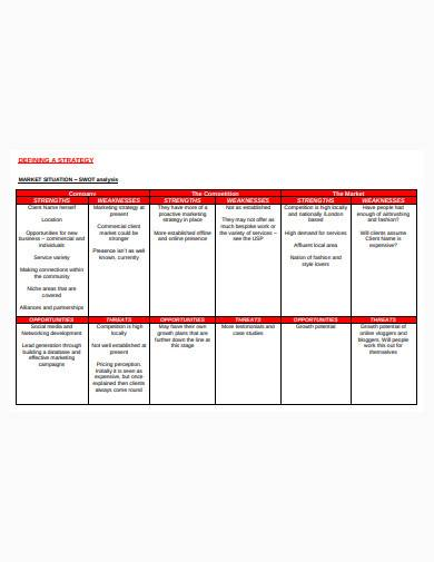 consultant marketing plan template