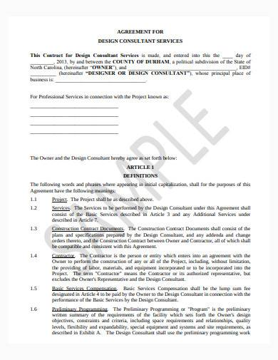 consultant service contract agreement1