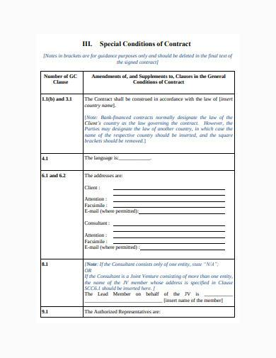 consultant work contract template