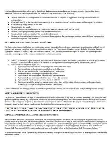 contractor handbook example