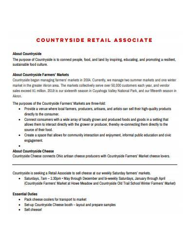 countryside retail associate cv