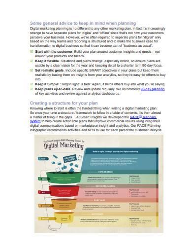 digital sales plan and sales strategy sample1