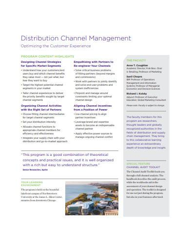 distribution channel management in pdf