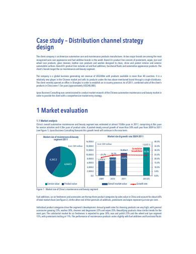 distribution channel strategy design template1