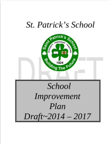 editable school implementation plan template