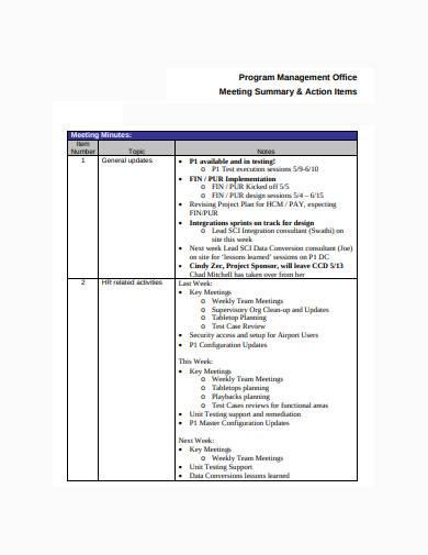 formal consultant meeting agenda sample
