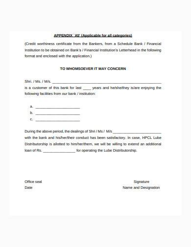 formal distributor letter of appointment template